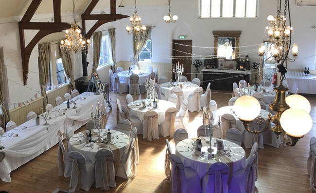 Wedding Decoration at Springfield Events Hall