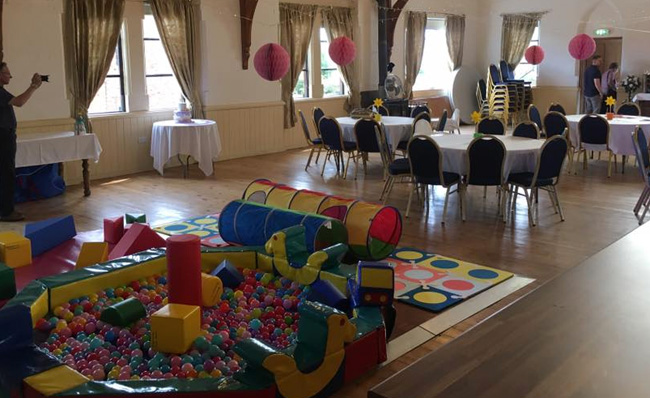 Children's Parties at Springfield Events Hall